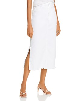 7 For All Mankind - Long A-Line Skirt