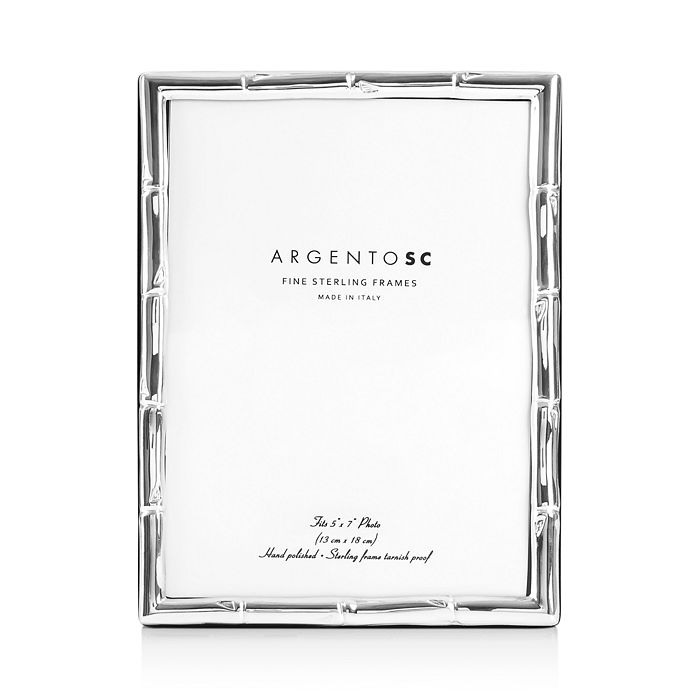 Argento SC - Bamboo Sterling Silver Frame