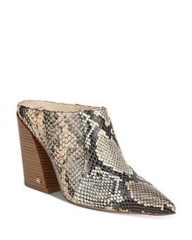 Sam Edelman - Women's Reverie 2 Block Heel Mules