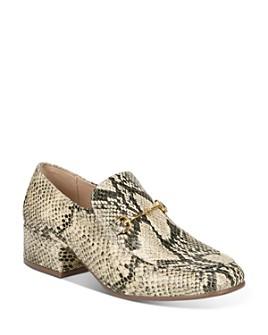 Sam Edelman - Women's Jamille Block Heel Loafers