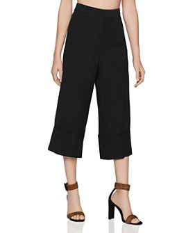 BCBGENERATION - High-Rise Cropped Wide-Leg Pants