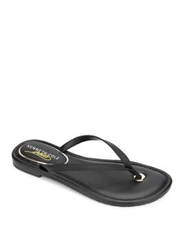 Kenneth Cole - Women's Mello Leather Flip-Flops