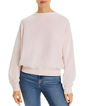 7 For All Mankind - Ribbed-Inset Sweatshirt