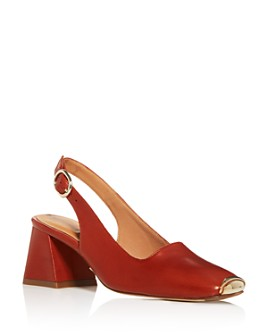 Miista - Women's Canar Slingback Block-Heel Pumps