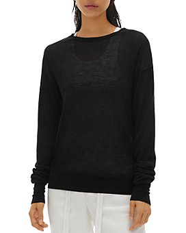 Helmut Lang - Semi-Sheer Cashmere Sweater