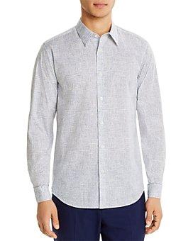 Theory - Thordon Print Slim Fit Shirt - 100% Exclusive
