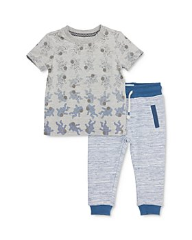 Sovereign Code - Boys' Rasheed Ombré Astronaut Tee & Sahid Color-Block Jogger Pants Set - Baby