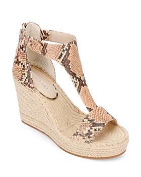 Kenneth Cole - Women's Olivia T-Strap Espadrille Sandals