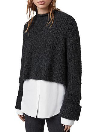 ALLSAINTS - Kalk Layered-Look Sweater