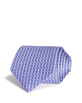 Eton - Multi Outlined Dots Silk Classic Tie