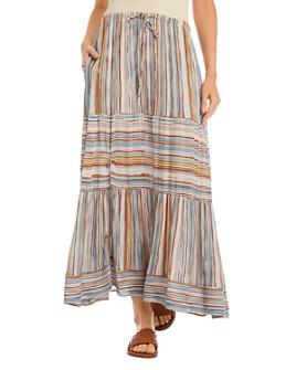 Karen Kane - Striped Maxi Skirt