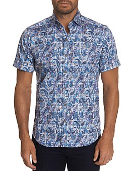 Robert Graham - Shaw Slim Fit Short-Sleeve Shirt