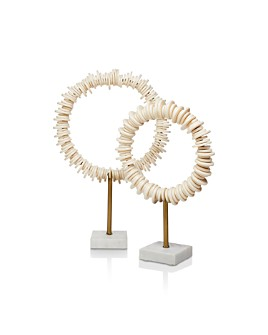 Jamie Young - Arena Ring Sculptures, Set of 2