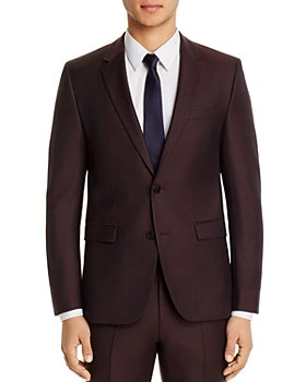 HUGO - Astian Birdseye Extra-Slim-Fit Suit Jacket