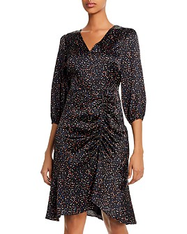 Sam Edelman - Colorful Dot Ruched Dress