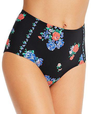 Tory Burch - Printed High-Waist Bikini Bottom