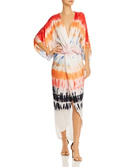 Young Fabulous & Broke - Siren Tie-Dyed Twist Dress