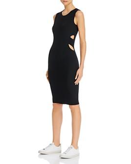 Helmut Lang - Cutout Bodycon Midi Dress