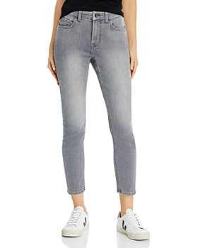 7 For All Mankind - Skinny Ankle Jeans in Grey