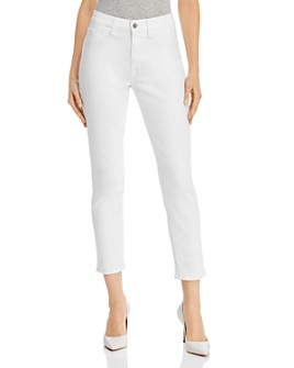 7 For All Mankind - Skinny Ankle Jeans in White