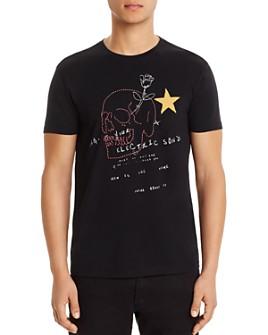 John Varvatos Star USA - Skull Graphic Logo Tee