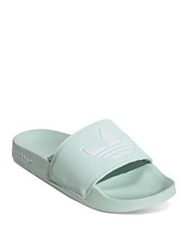 Adidas - Women's Adilette Logo Slide Sandals