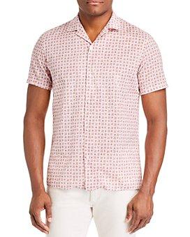 Altea - Floral Regular Fit Short-Sleeve Shirt