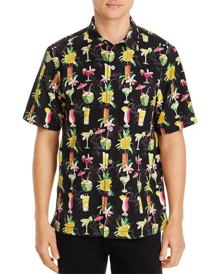 Tommy Bahama - Bartenders Choice Regular Fit Short-Sleeve Silk Shirt