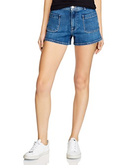 FRAME - Le Bardot Denim Shorts in Manteca