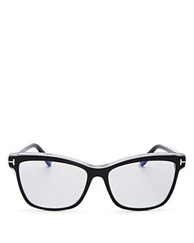 Tom Ford - Women's Square Blue Light Glasses, 55mm