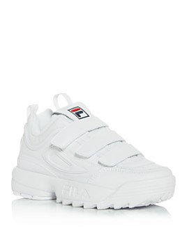 FILA - Women's Disruptor II Triple Strap Low-Top Sneakers