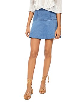 Free People - Highlands Denim Skirt