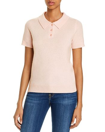 C by Bloomingdale's - Cashmere Polo Shirt - 100% Exclusive