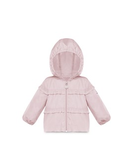 Moncler - Girls' Hiti Hooded Ruffle Windbreaker - Baby, Little Kid