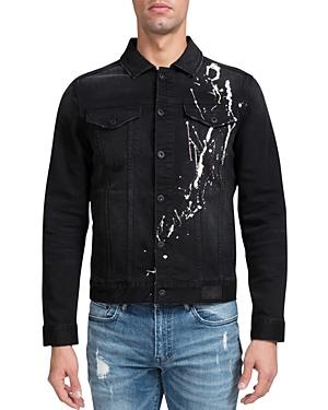Prps Liberty Paint Splatter Slim Fit Jacket