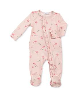 Angel Dear - Girls' Flamingo Ruffled Footie - Baby