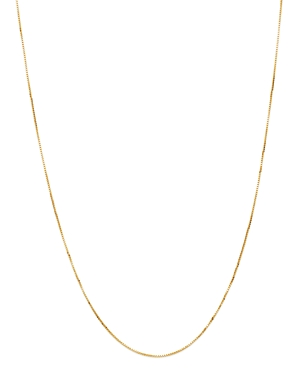 Bloomingdale's BOX LINK CHAIN NECKLACE IN 14K YELLOW GOLD - 100% EXCLUSIVE