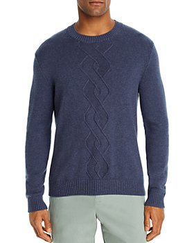 The Men's Store at Bloomingdale's - Cotton-Blend Argyle Classic Fit Crewneck Sweater - 100% Exclusive