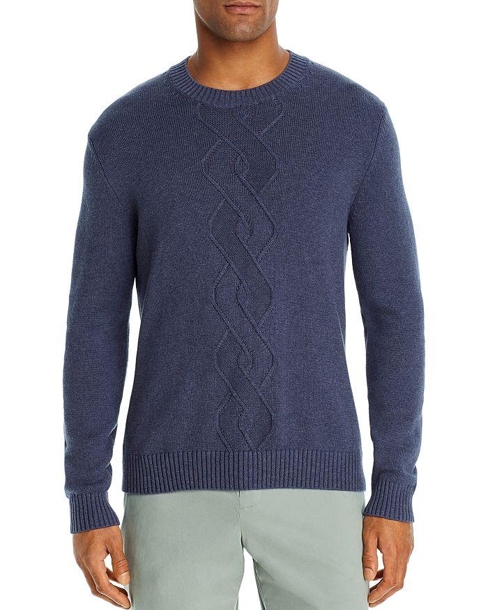 The Men's Store at Bloomingdale's - Cotton-Blend Argyle Classic Fit Crewneck Sweater - 100% Exclusive