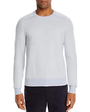 The Men\\\'s Store at Bloomingdale\\\'s Cotton-Blend Chevron Classic Fit Crewneck Sweater - 100% Exclusive-Men