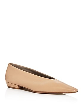 Bottega Veneta - Women's Square-Toe Flats