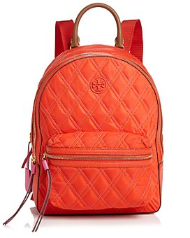 Tory Burch - Perry Mixed-Stitch Nylon Backpack