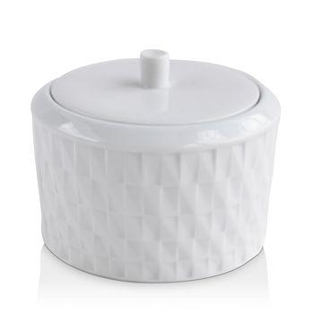 Bernardaud - Twist Collection 2-Piece Lidded Sugar Bowl - 100% Exclusive