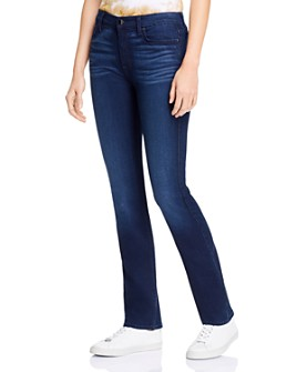 7 For All Mankind - Slim Straight Jeans in Classic Midnight Blue