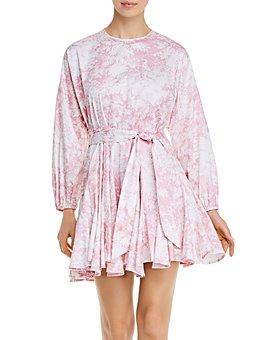 WAYF - Altonia Botanical-Print Swing Dress