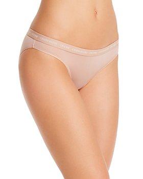 Calvin Klein - CK One Logo-Print-Waist Bikini
