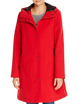 Calvin Klein - A-Line Hooded Coat