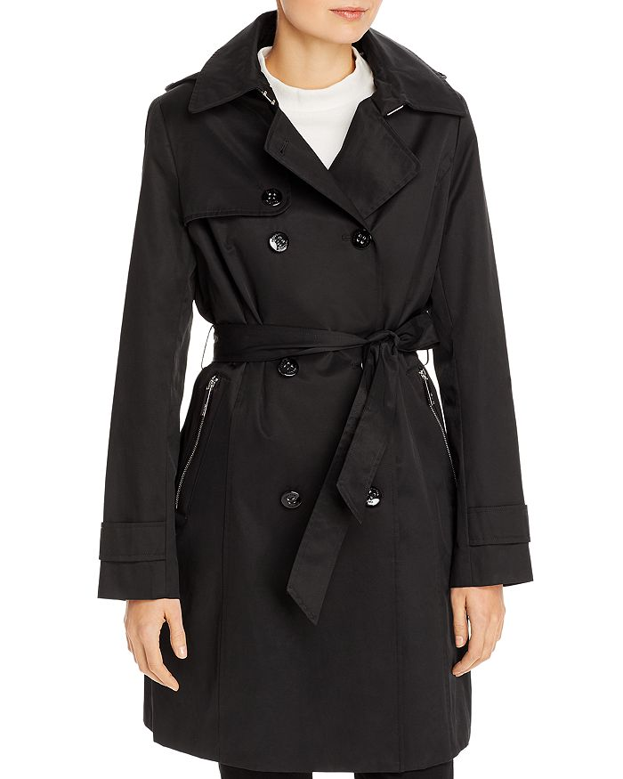 Calvin Klein - Mid-Length Trench Coat