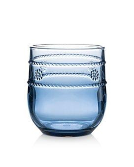 Juliska - Isabella Blue Acrylic Beverage Tumbler