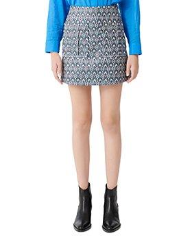 Maje - Jako Jacquard Mini Skirt